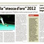Giornale di Vicenza Campionato di Biliardo